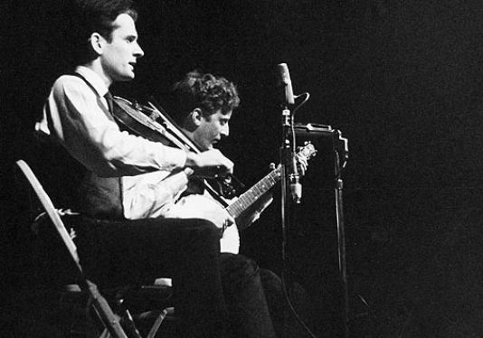 Mike Seeger with John Cohen, 1963