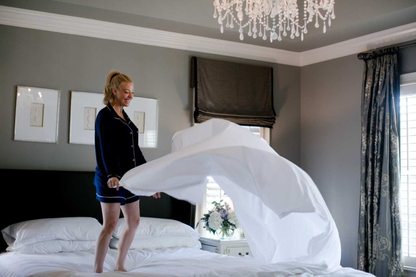 percale white sheets review