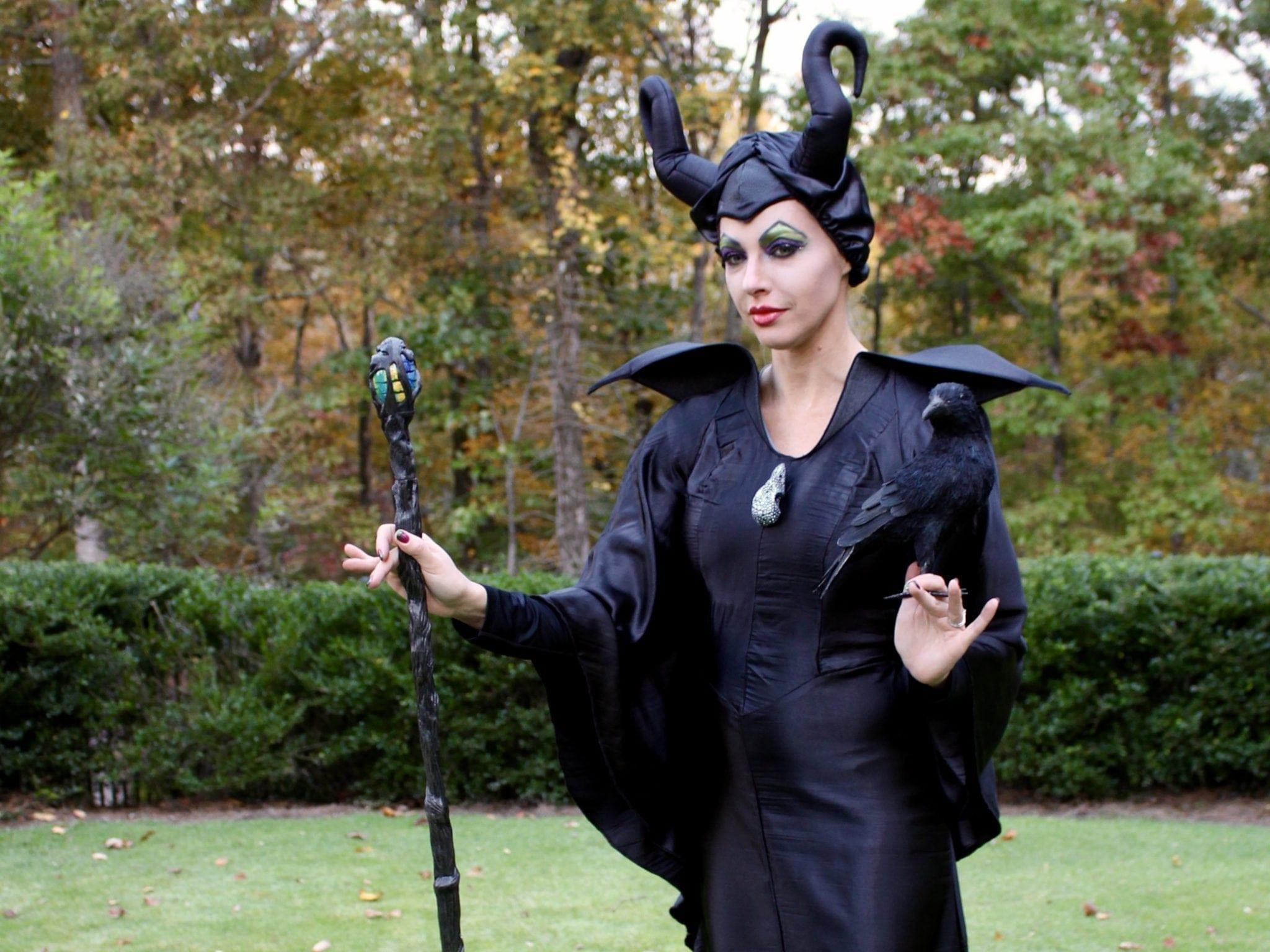 Cheap maleficent halloween costume