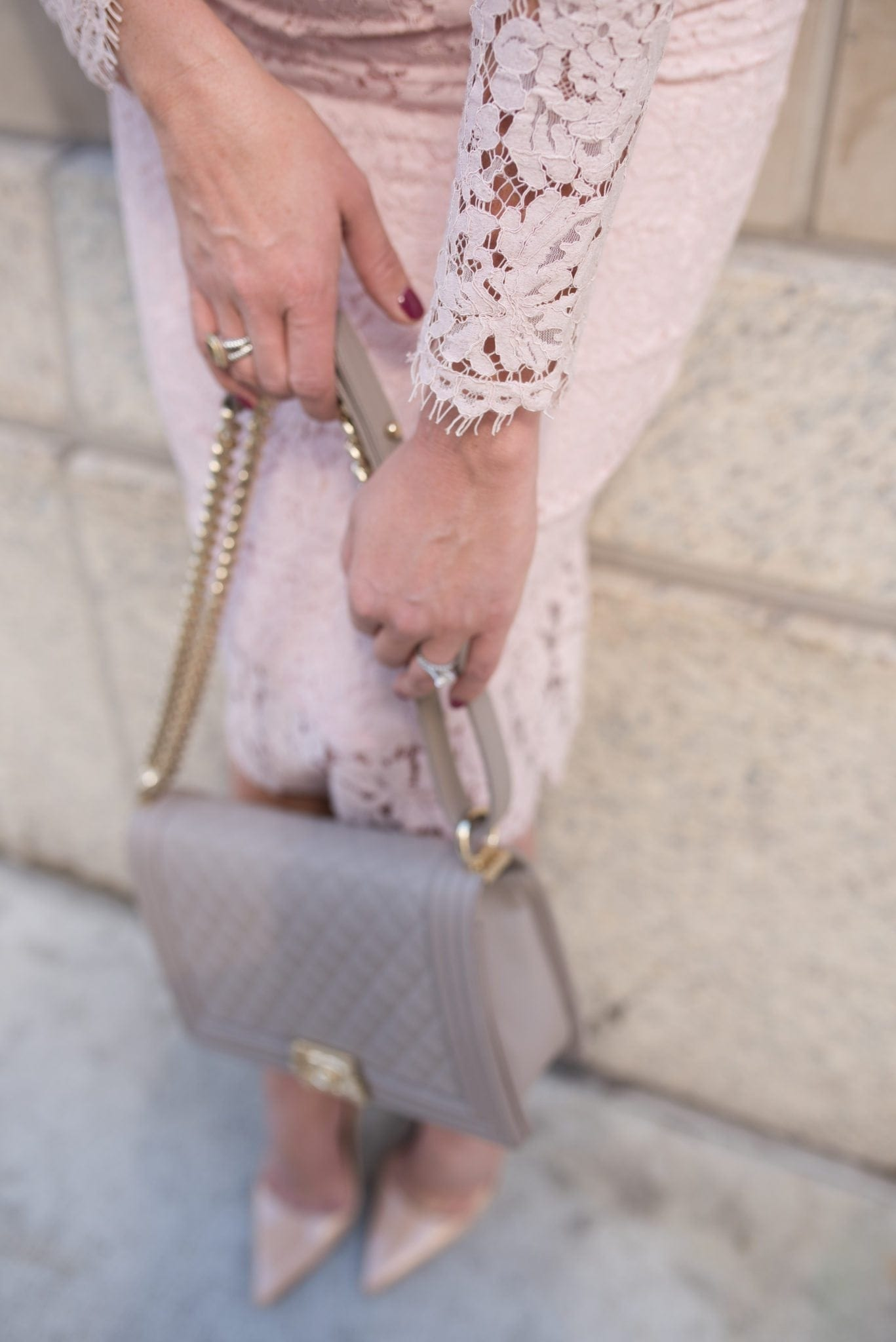 What to wear a Chanel boy bag with.