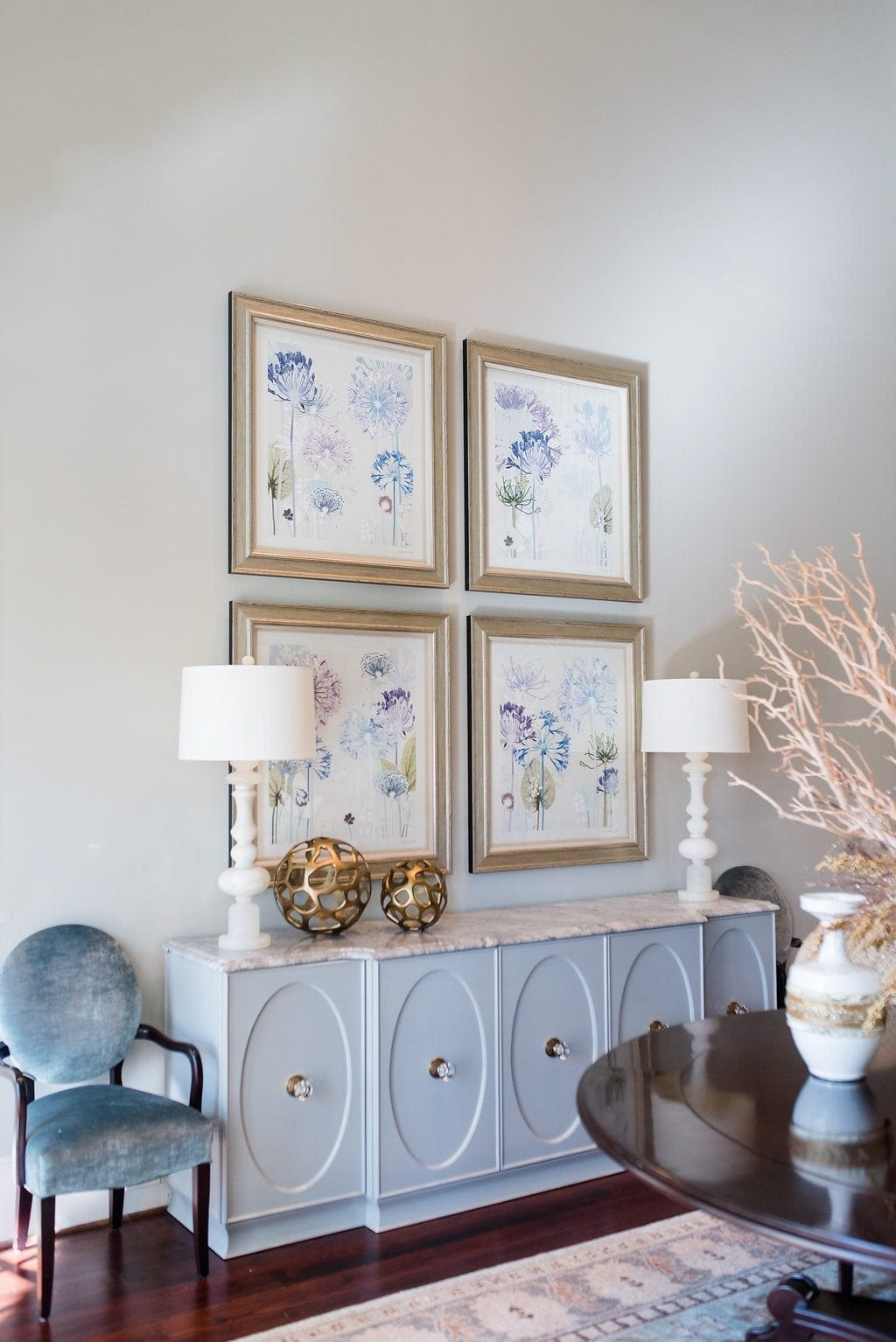 A special giveaway of an Amanda Ross floral artwork wall art series. Typically only available to the trade through Trowbridge Art and other designer only places, this giveaway will give two winners exclusive signed artwork to grace their home.