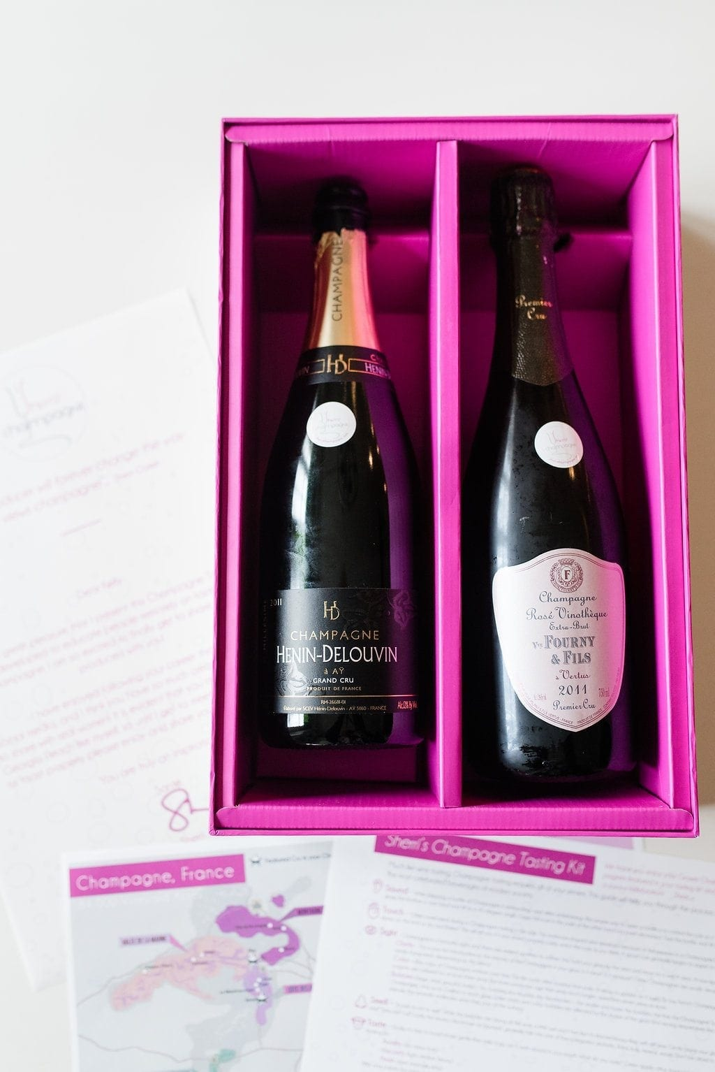 Grower producer champagne. Hard to get champagne in the United States. Great gift idea for wine lovers.