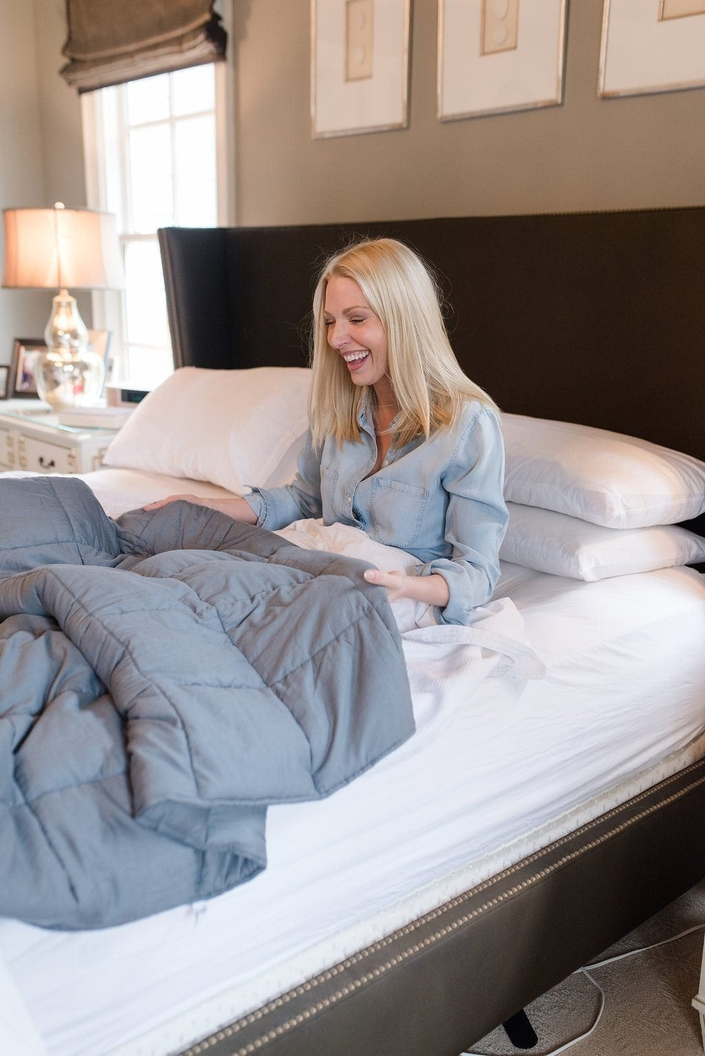 What is a weighted blanket and do they work for insomnia.