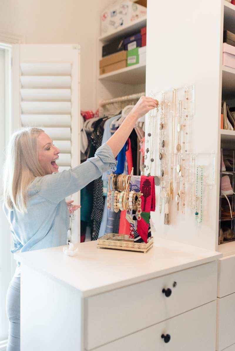 Designing a closet with California Closet. Tips to improve my existing walk in closet.