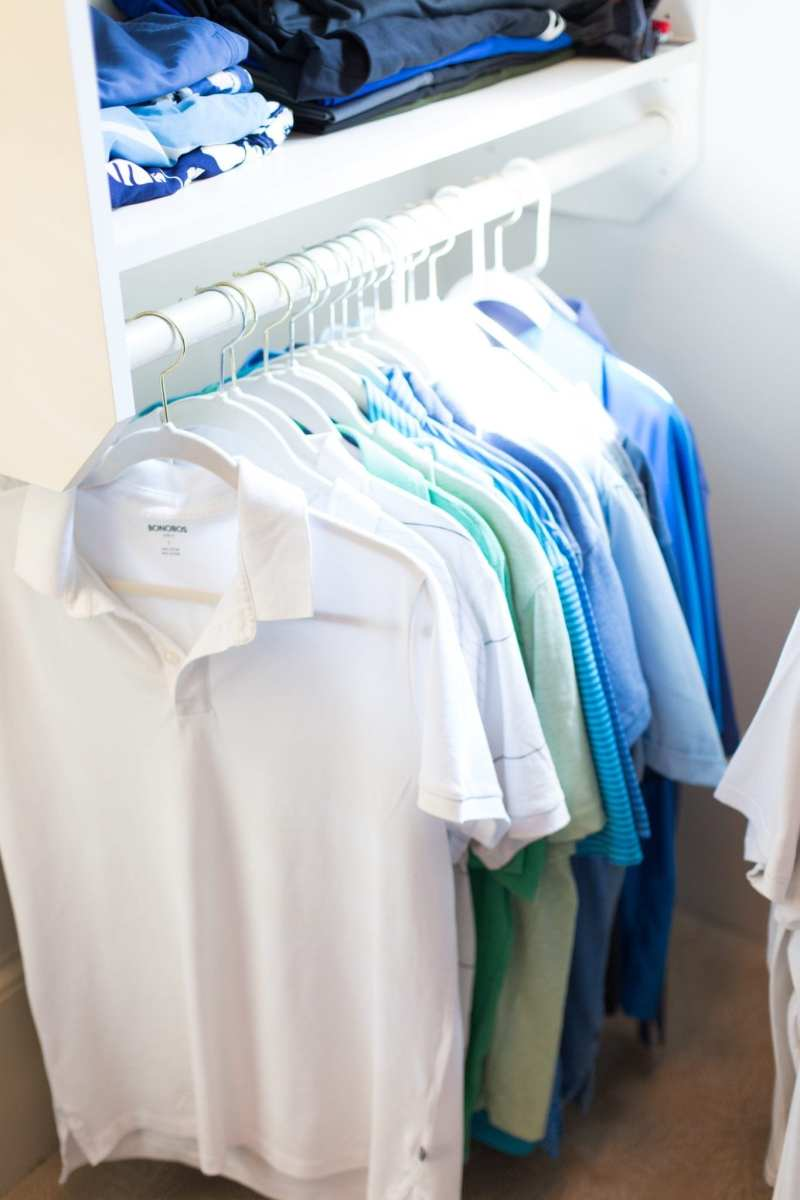 The KonMari Method for California Closets.