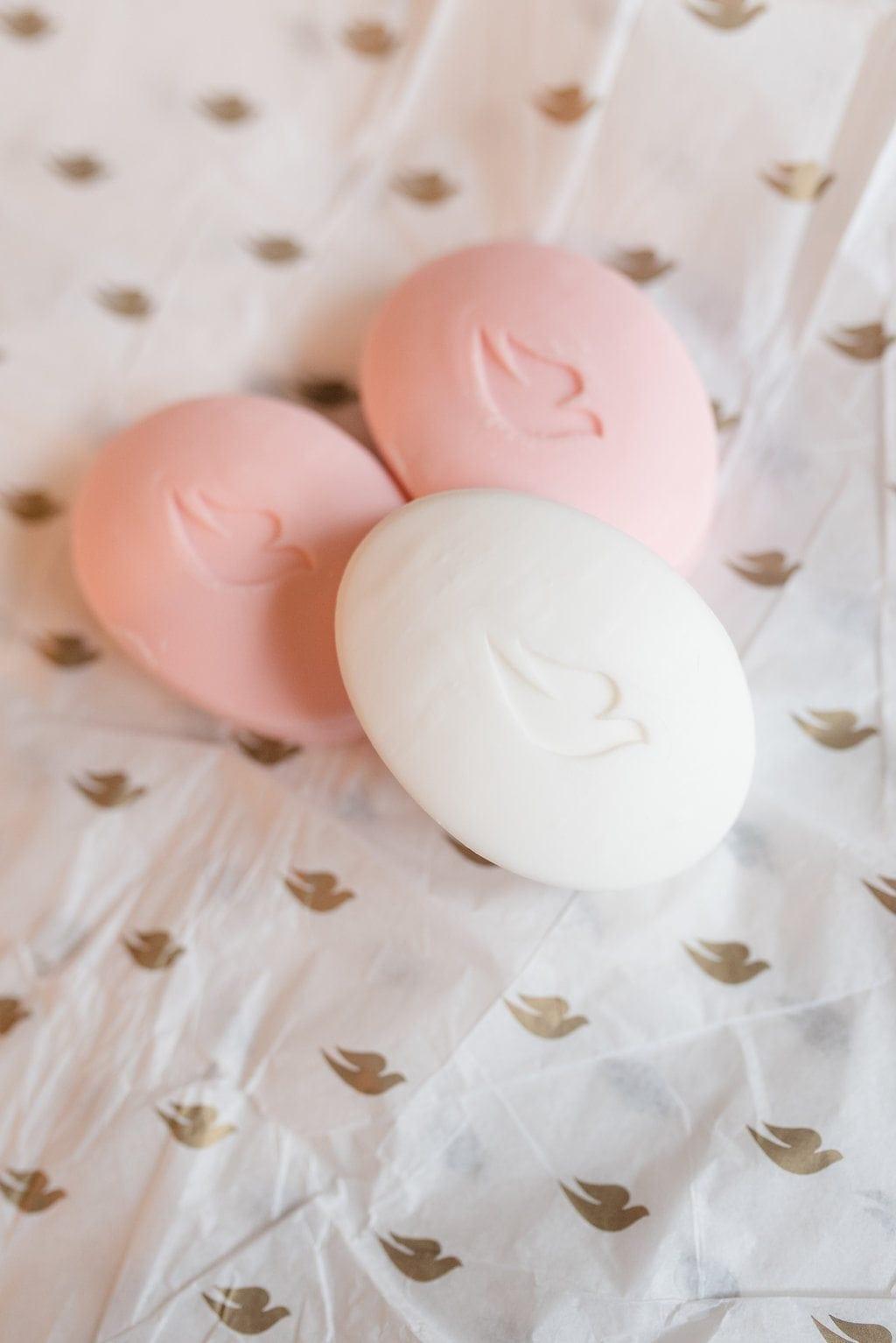 Best drugstore soaps for skincare. Dove Beauty Bar.