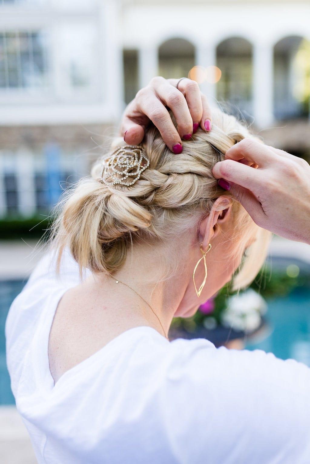 How to braid long hair easily. Easy dutch braid