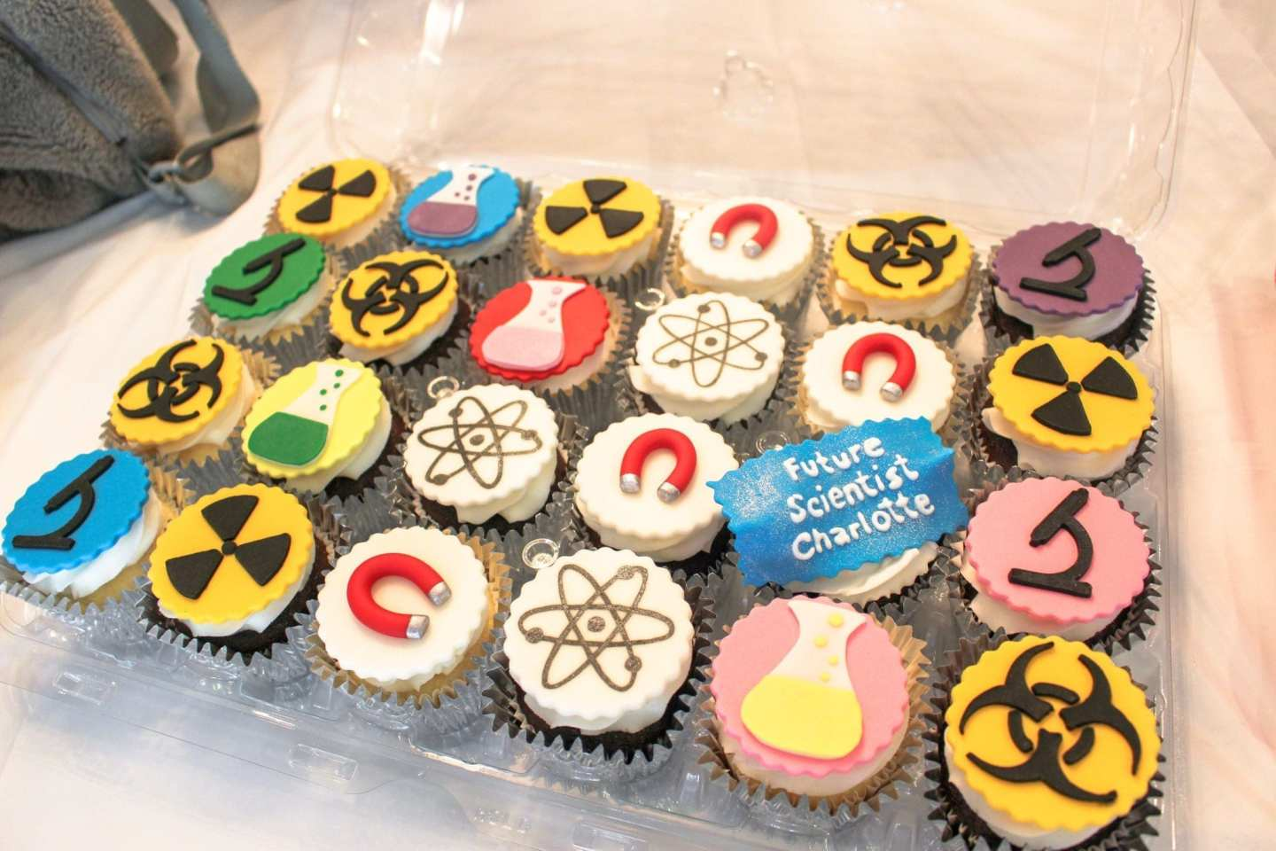 a science themed birthday party!