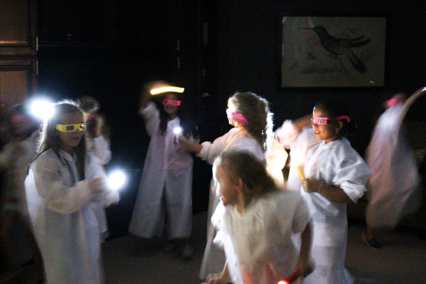 Glow in the Dark Slime Dance Party