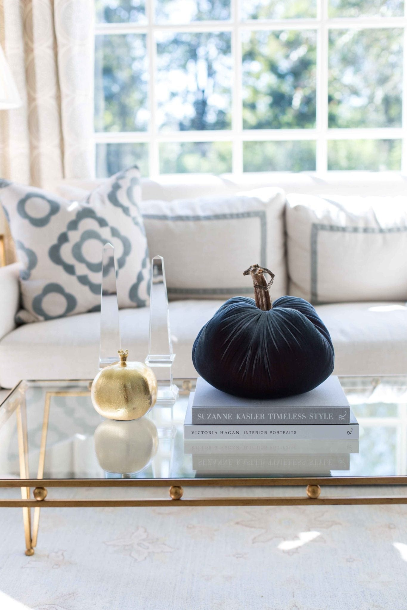 Plush Pumpkin velvet pumpkin exclusive for bluegraygal. Elegant and simple fall decor with a hint of rustic elegance! Gorgeous as a home decor decoration for the fall season or for setting a Thanksgiving table!
