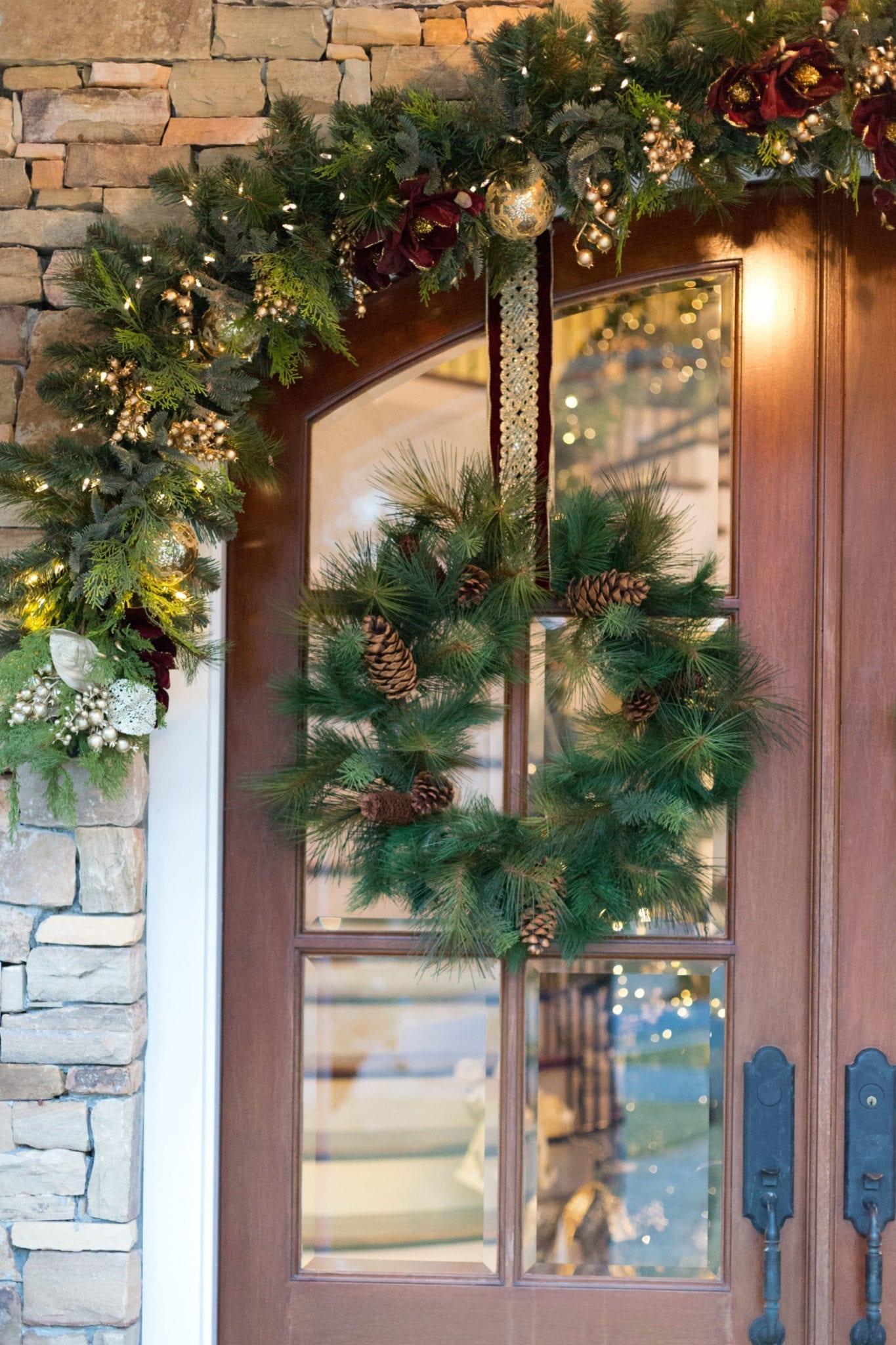 How to Hang a Wreath on a Door