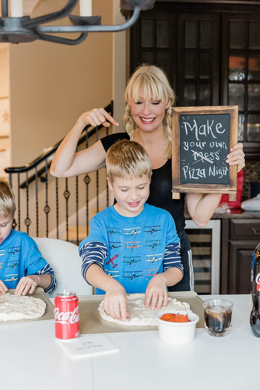 Best pre made pizza dough for make your own pizza night with the kids!