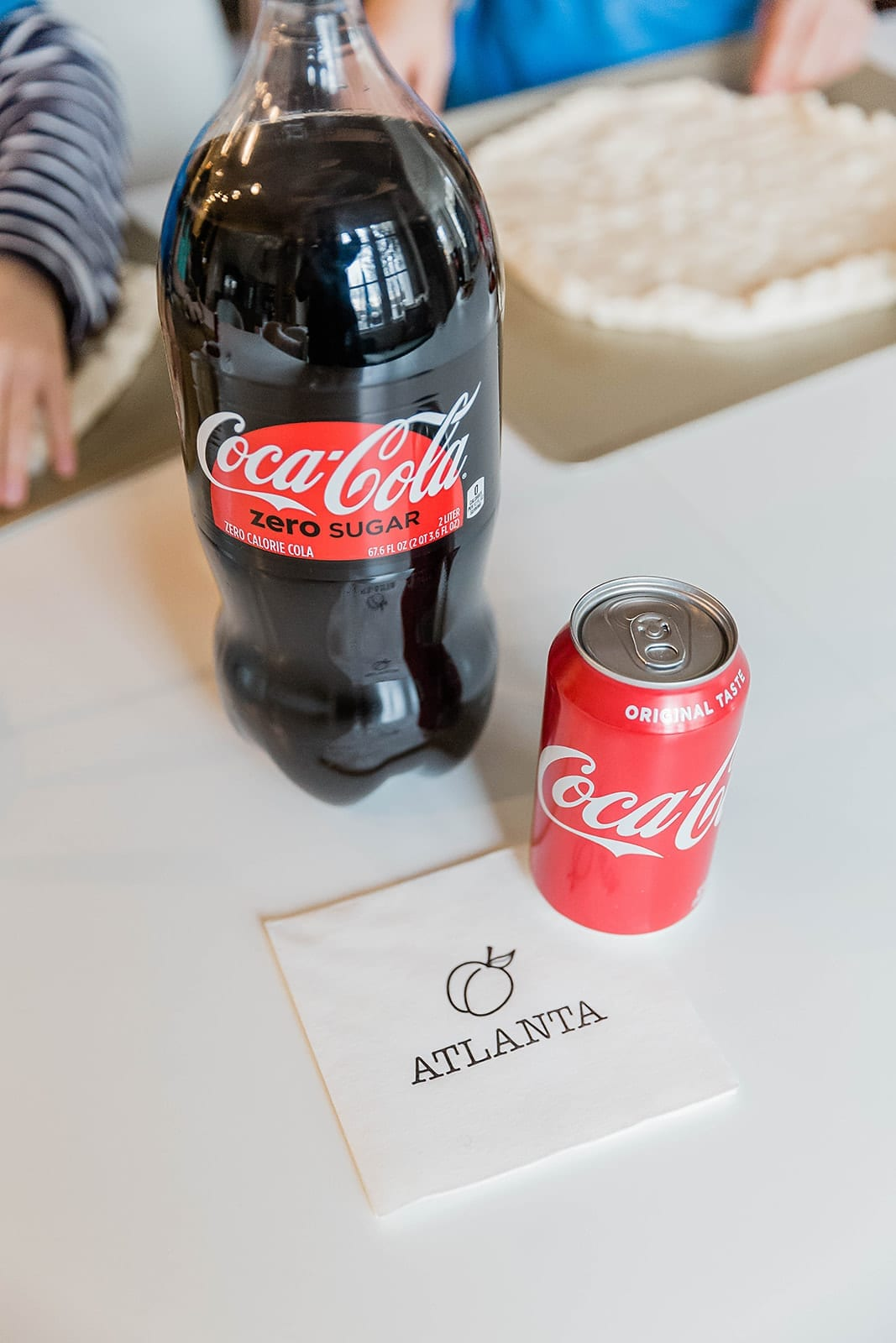 Atlanta Super Bowl Mercedes Stadium. Throw an Atlanta themed party with Coke and Publix for a fun family dinner and celebration!