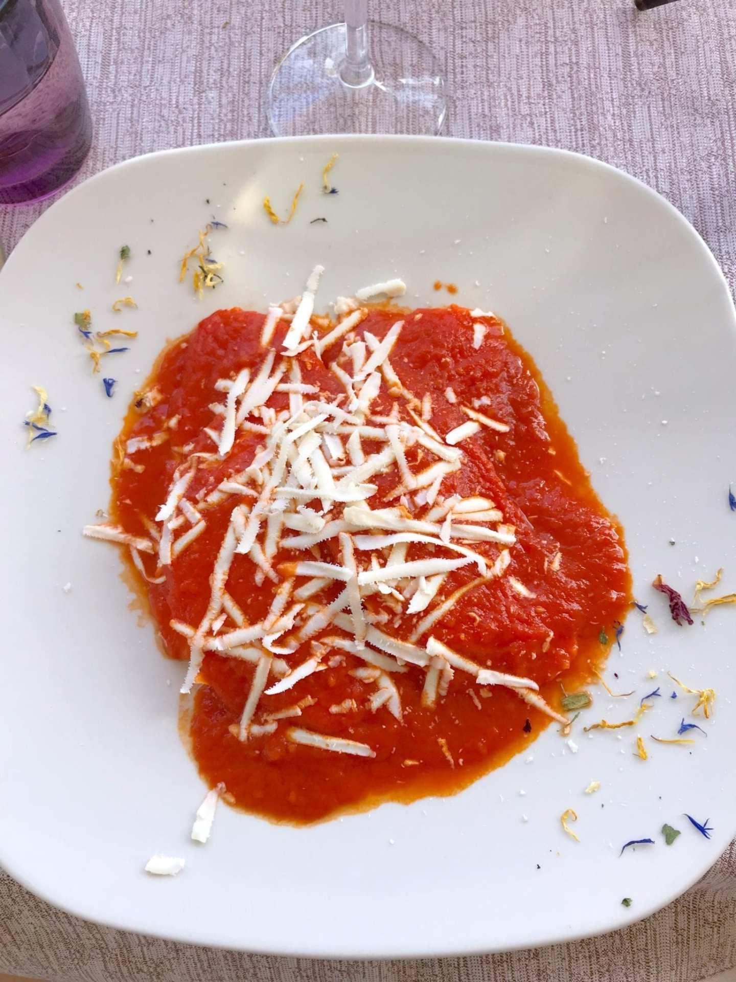 Best pasta in Ravello, Italy