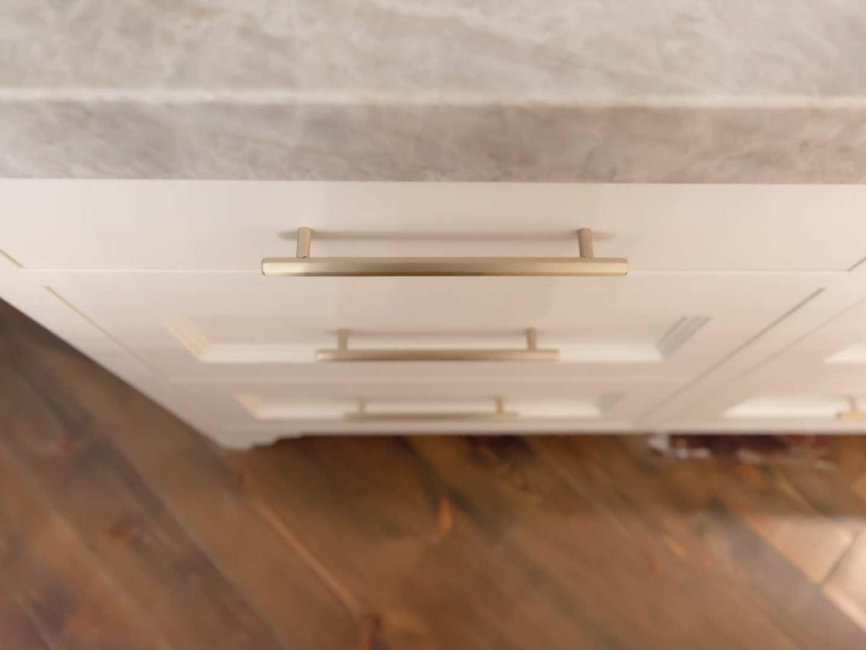 Modern pulls by VESTA. Luxury hardware for home remodel.