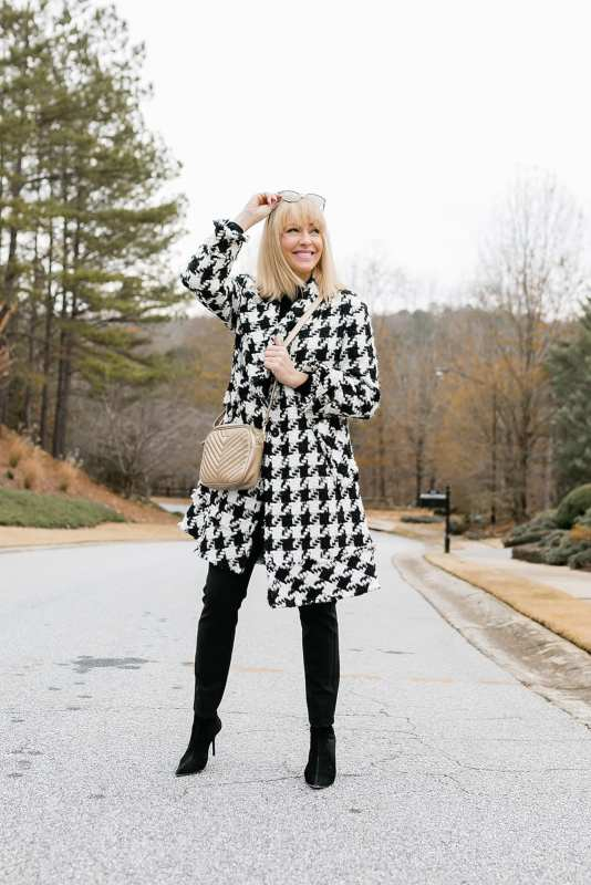 Alice and Olivia Houndstooth Coat Review