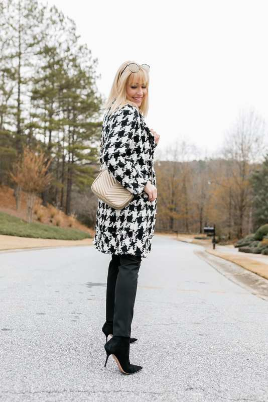 This Houndstooth Jacket Outfit is the best! a