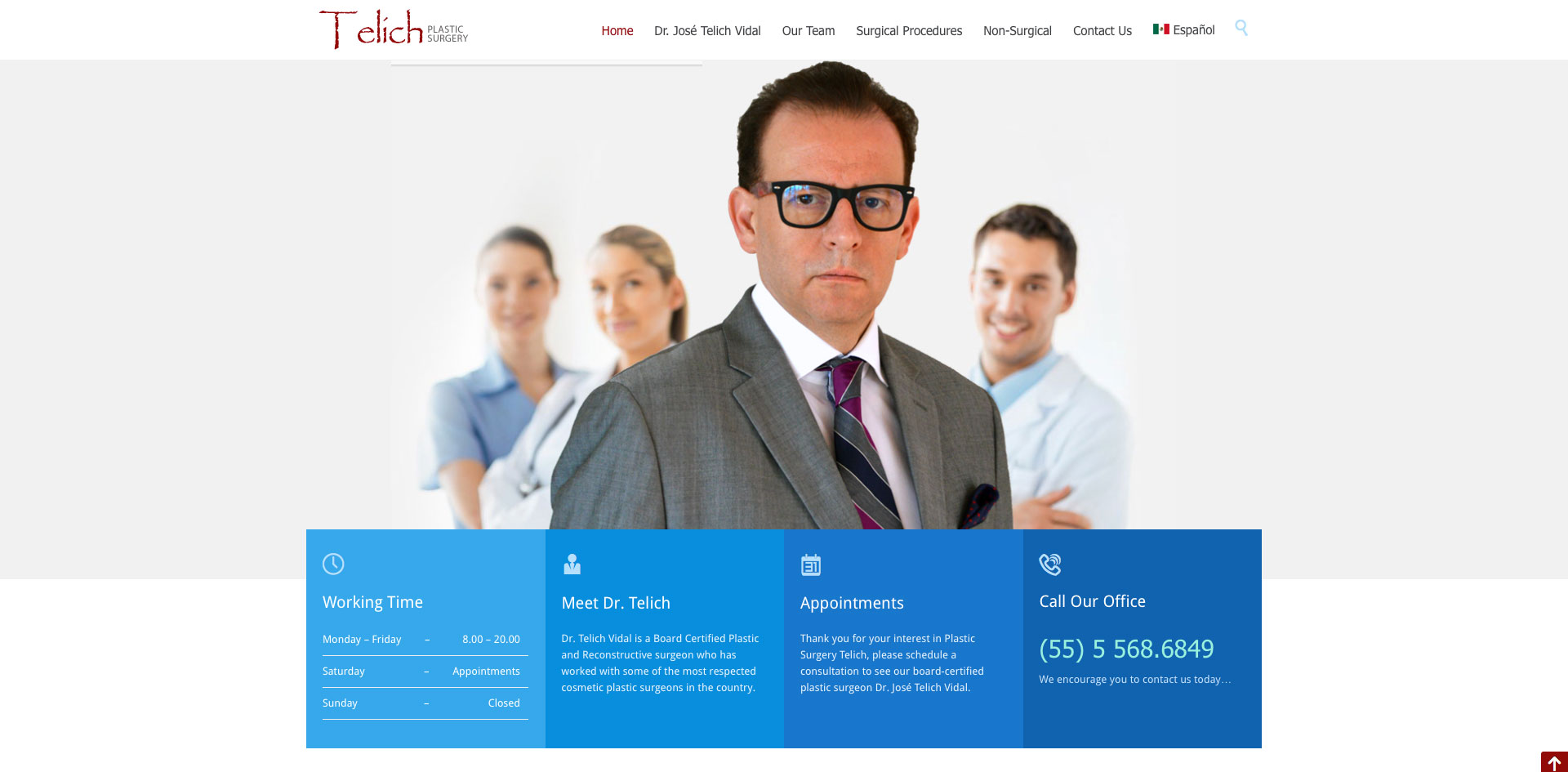 Telich Plastic Surgery designed by Blue Guys
