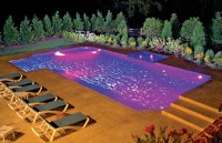 Pool Lighting Photos | Blue Haven Pools
