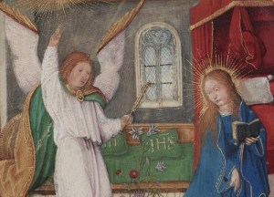 Chigi codex annunciation