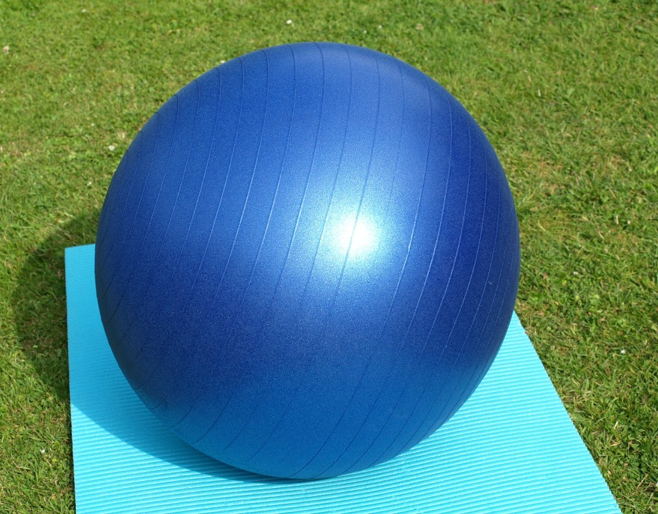 PT Exercise Ball at NE Portland Chiropractor