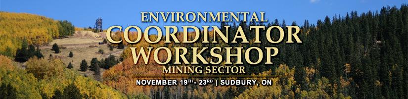 Environmental Coordinator Workshop Training | Sudbury, Ontario