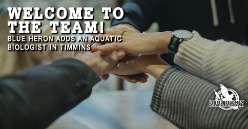 New Aquatic Biologist in Timmins Office