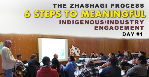The Zhashagi Process - 6 Steps to Meaningful Indigenous/Industry Engagement - Day 1