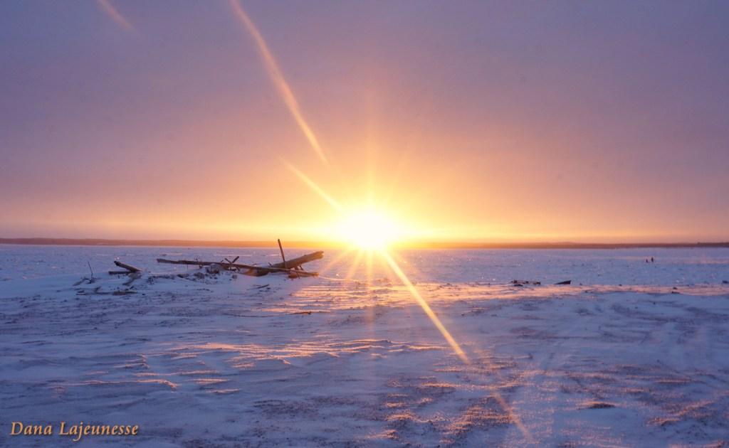 3PM Sunset  by Dana Lajeunesse