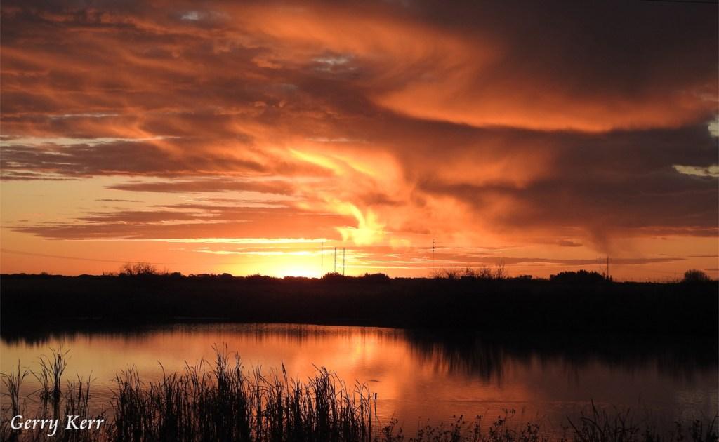 Saskatchewan Sunrise by Gerry Kerr