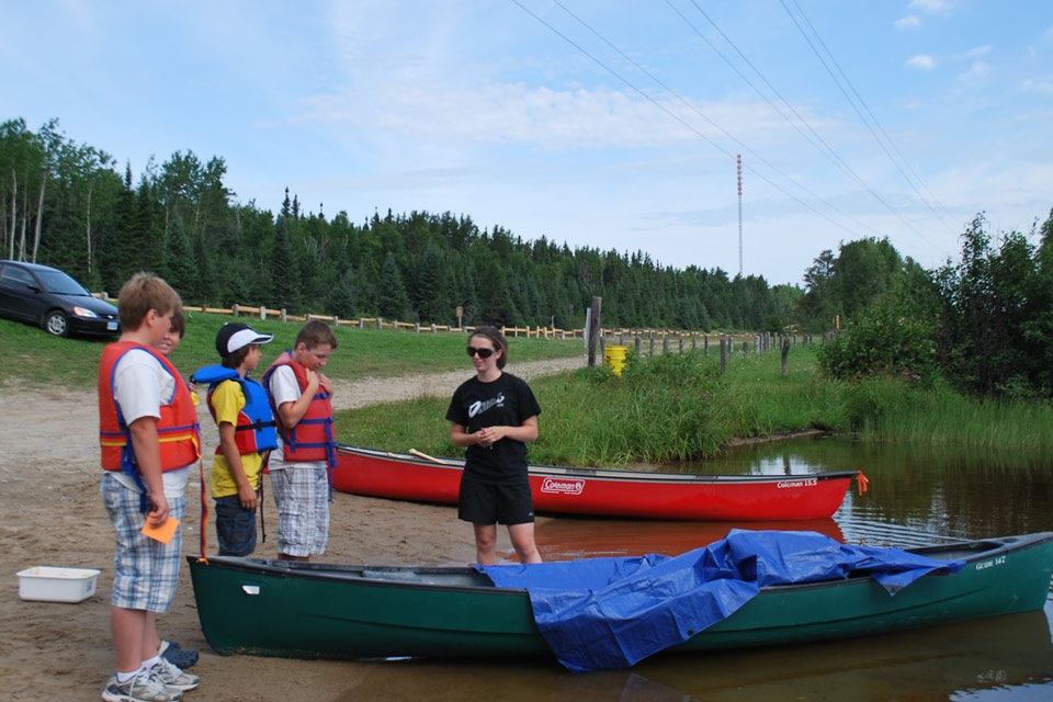 Canoe Safety and Paddling