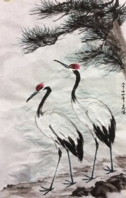 Animal Frolics - crane