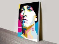 Eminem Pop Art Canvas Prints Sydney