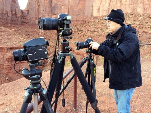 Shooting sunrise with 3 Besties, Monument Valley, Utah.