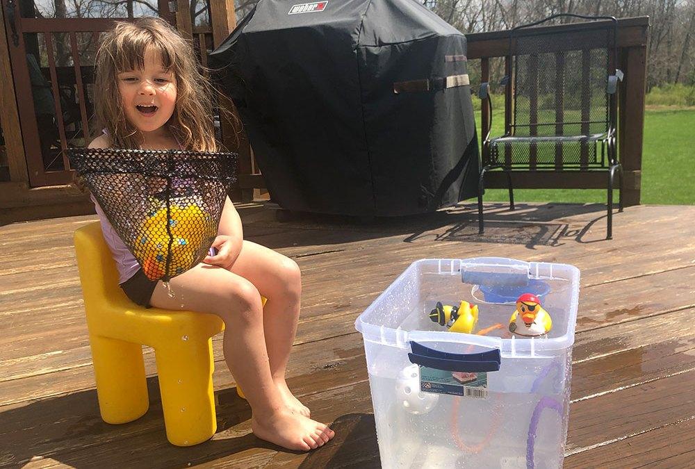 Bucket Fishing