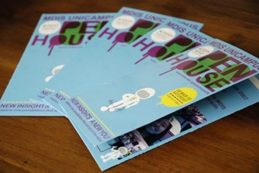 30个宣传册设计欣赏 佳作欣赏 蓝色理想