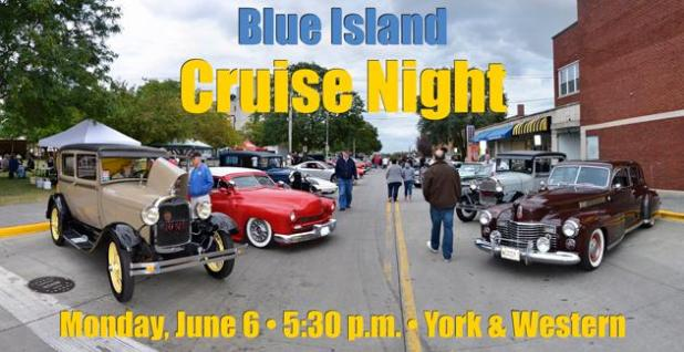 Blue Island cruise nights 2016