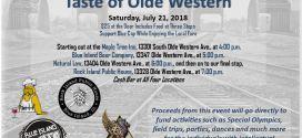 Blue Cap presents Taste of Olde Western