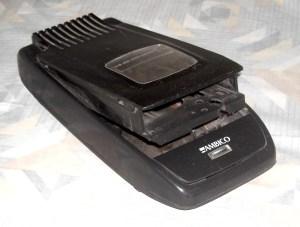 A VHS tape rewinder, a piece of 'legacy' tech