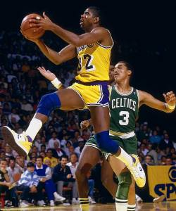 Magic Johnson is considered by many to be the greatest passer of all time