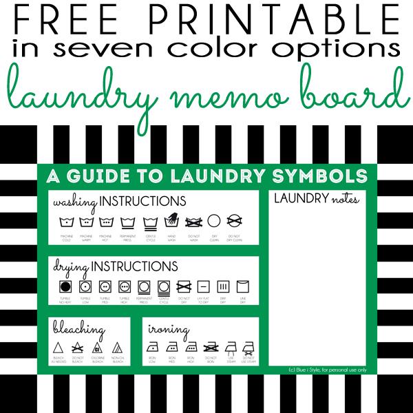dry erase memo board free laundry