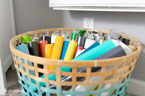 How To Organize Cricut Supplies Blue I Style