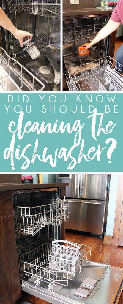 How To Clean A Dishwasher Blue I Style