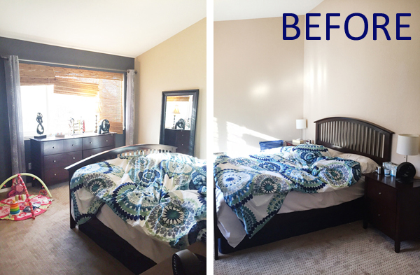 How To Redecorate A Bedroom Without Replacing The Furniture Blue I Style