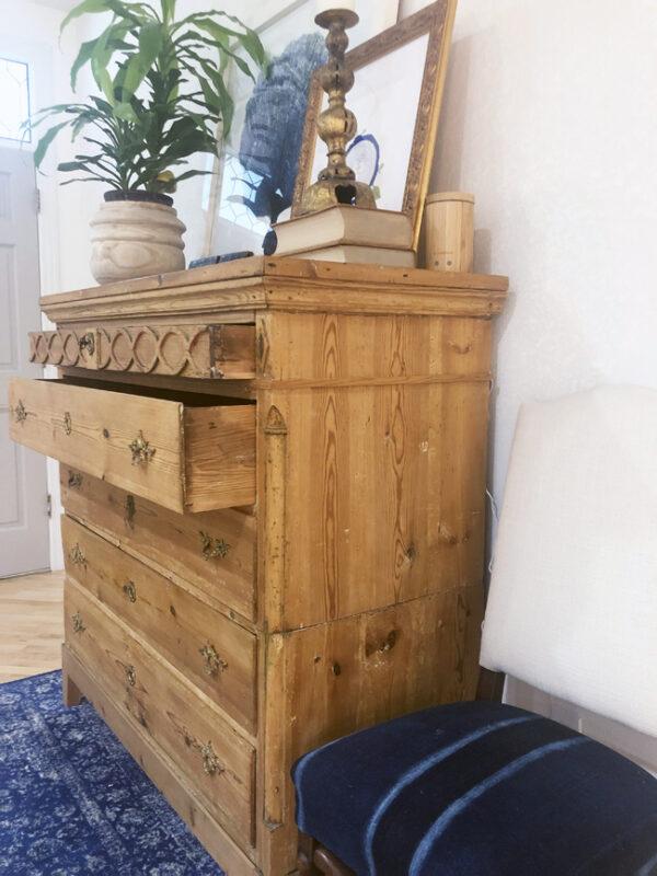 make old wood drawers slide more easily
