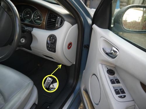 2003 Jaguar Xj8 Fuse Box Diagram Jaguar X Type Obd Ii Port Location And Information