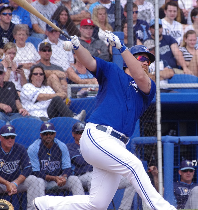 Adam Lind (no, I don't have any photos of Justin Smoak)