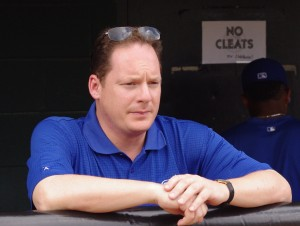 Blue Jays Director of Minor League Operations, Charlie Wilson