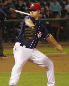 Matt Newman pitches