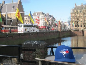 My Blue Jays Cap in The Hague, Netherlands